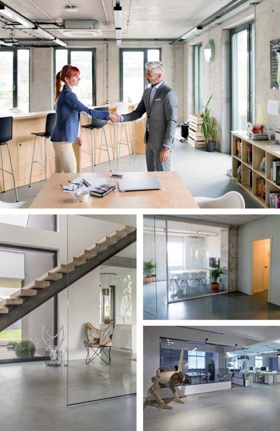 Remmers Designböden Geschäftsräume